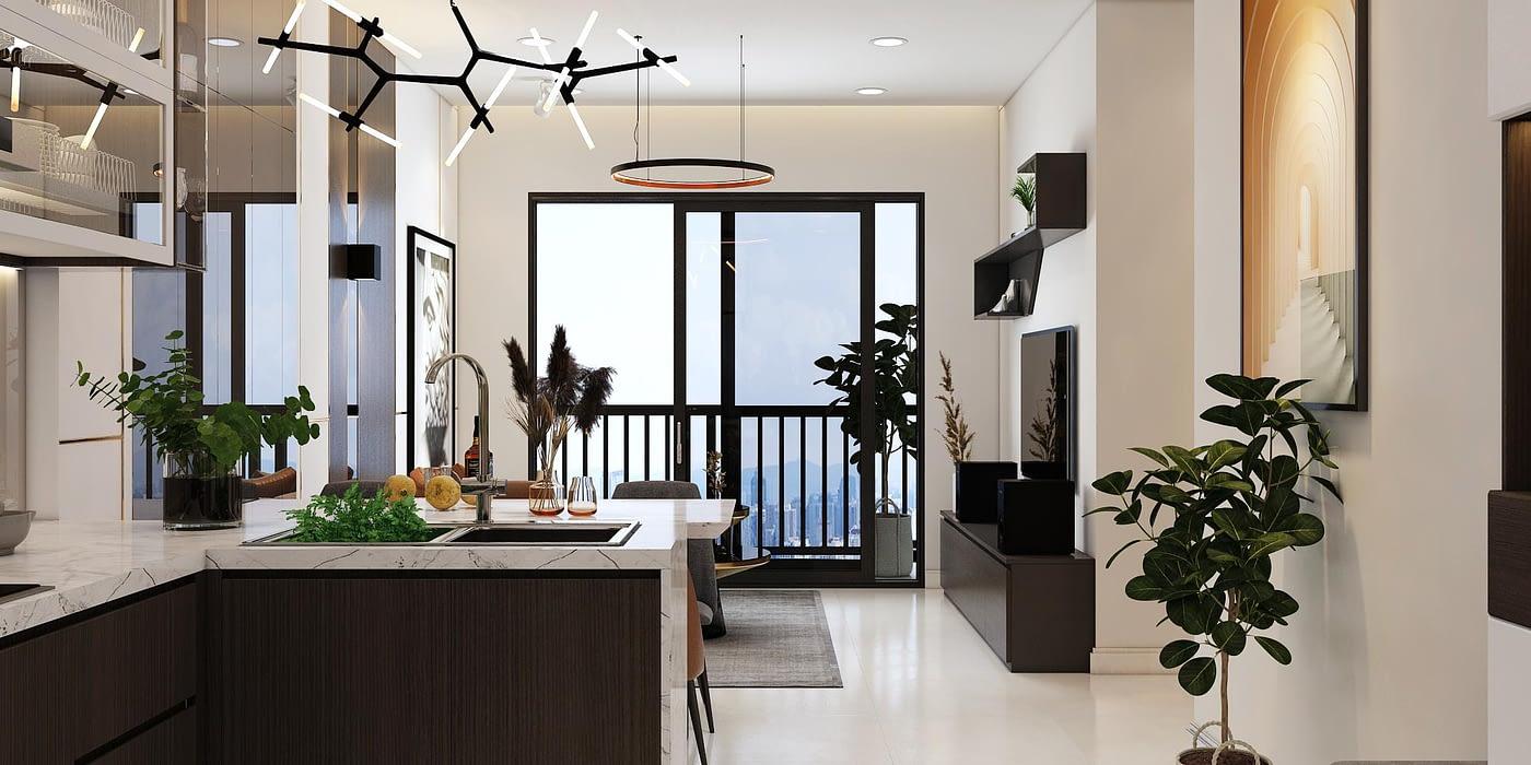 thiết kế nội thất chung cư giá rẻ tại hcm